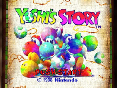 cute pics of yoshi. and cute games that I have