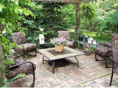 Garden Patio Design Reflects Personal Taste And Lifestyle