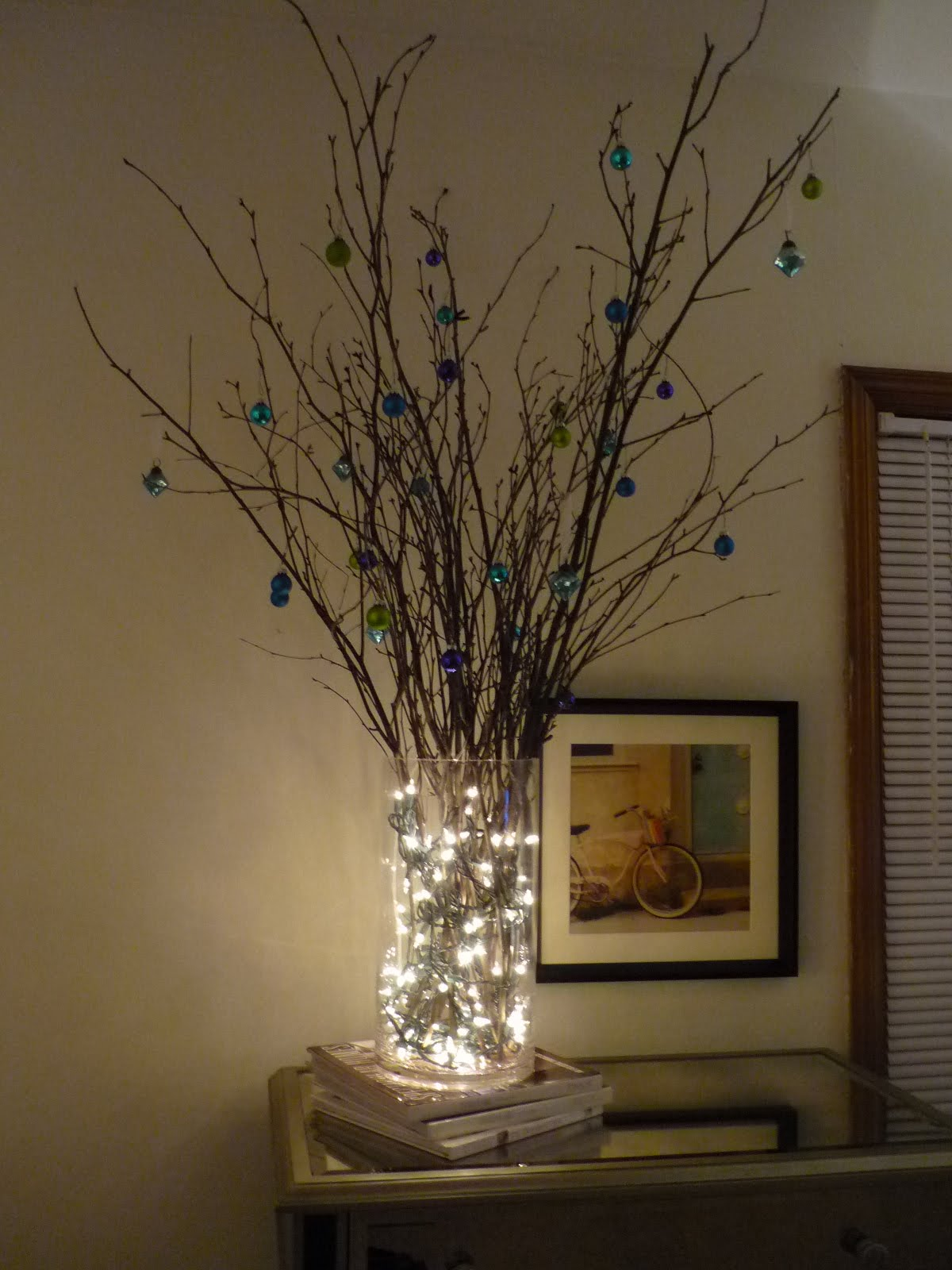 Olive juice non traditional christmas tree s for Non traditional christmas tree ideas