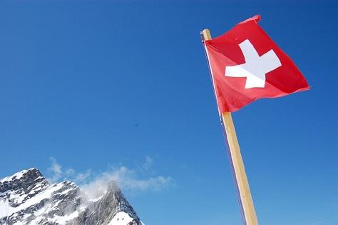 vlajka Švýcarské konederace
