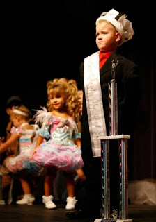 the downside of allowing children to compete in beauty pageants Worn by children who are competing in beauty pageants pageants require or even allow the to see their children compete, natural pageants.