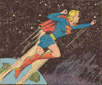 supergirl in space by jim mooney