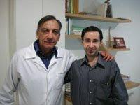 Saudades: Eu e meu amigo Dr. Osmar de Oliveira, médico e jornalista