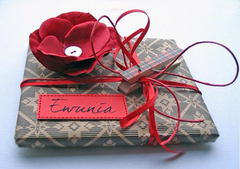 Idées pour Noël: Encore des emballages cadeaux