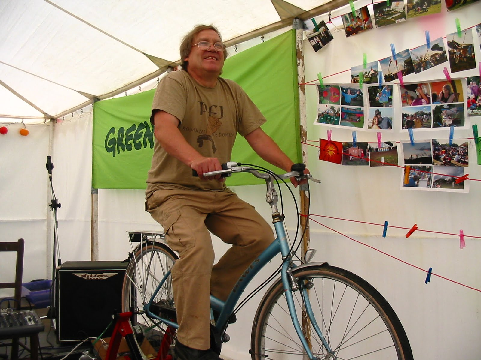 Transition Norwich News Bike Generator Workshop and Pedal Power