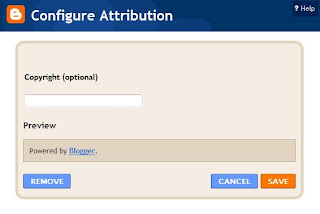 get rid thesis attribution How to remove powered by blogger attribution widget from blogger easy step to remove powered by blogger attribution from footer.