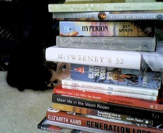 My reading list. Holding me hostage.