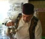 Il cuoco etnico all'opera