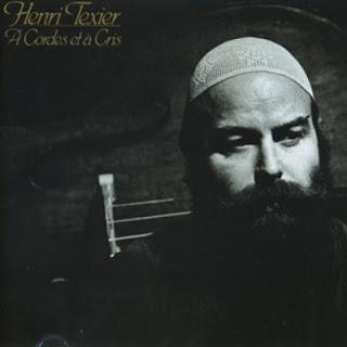 HENRI TEXIER-A CORDES ET A CRIS, LP, 1979, FRANCE