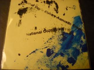 Cover Album of ARTHUR DOYLE ELECTRO-ACOUSTIC ENSEMBLE-NATIONAL CONSPIRACY, CDR, 2004
