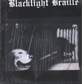 BLACKLIGHT BRAILLE-ELECTRIC CANTICLES OF THE BLACKLIGHT BRAILLE, LP, 1981, USA