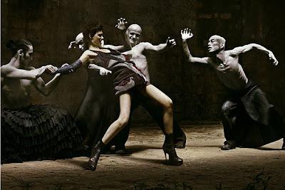 Goth Fashion Designers on Actress Model Designer  Fashion War  Gothic Fashion Of Vogue Italy Vs