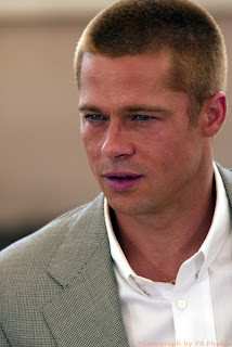 Hollywood sexyest male suprstar celebrity Brad Pitt