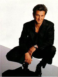 Hollywood popular and sexy male celebrity Sean Penn - Wins Oscar 2009 Best Actor Award for 'Milk'