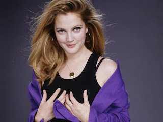Hollywood popular and sexy actress celebrity Drew Barrymore