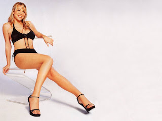 American singer and actress Mariah Carey
