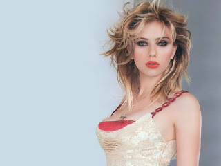 American actress and singer Scarlett Johansson