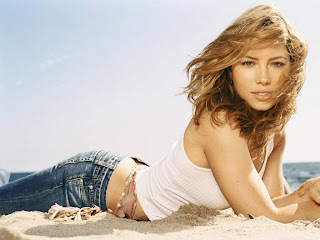 American actress and former model Jessica Biel