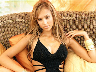 American television and film actress Jessica Alba