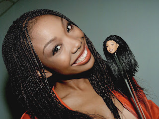 American actress and R&B singer Brandy Norwood