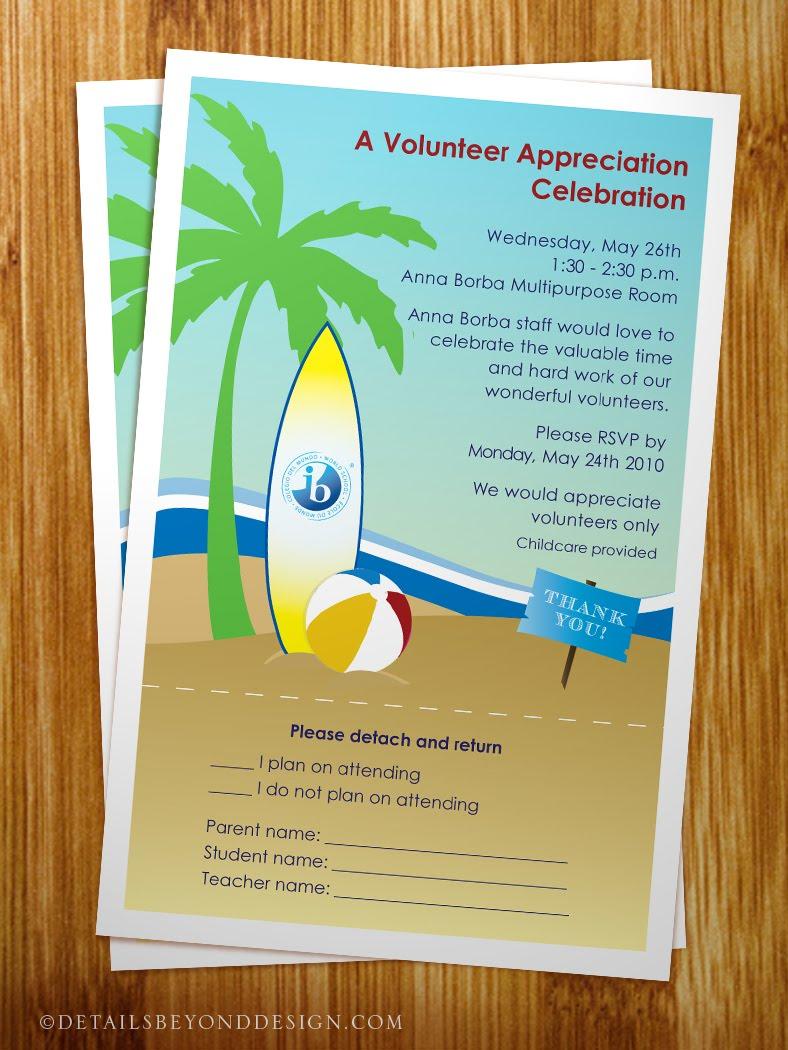 Volunteer Appreciation Invitation Volunteer appreciation