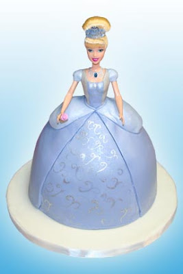 Send Birthday Cake on This Princess Barbie Birthday Cake I Made For My Daughter S Birthday