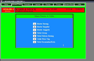 GROSIR MODERN DETAIL SOFTWARE POINT OF SALES DAN INVENTORY