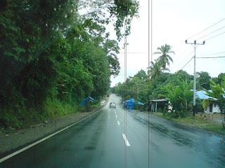 Jalan raya Ambon