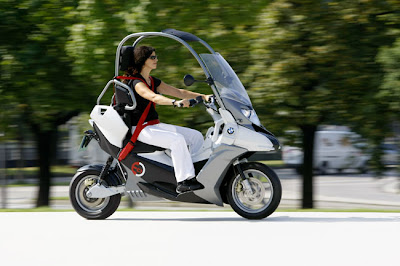 scootermatic Concept BMW C1-E Enduro