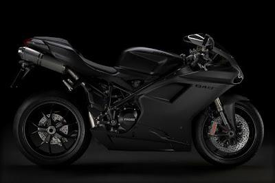 black Ducati 848 EVO walpaper