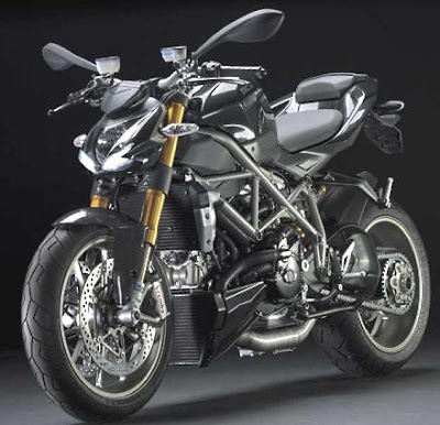 2011 Ducati  Streetfighter motorcycle