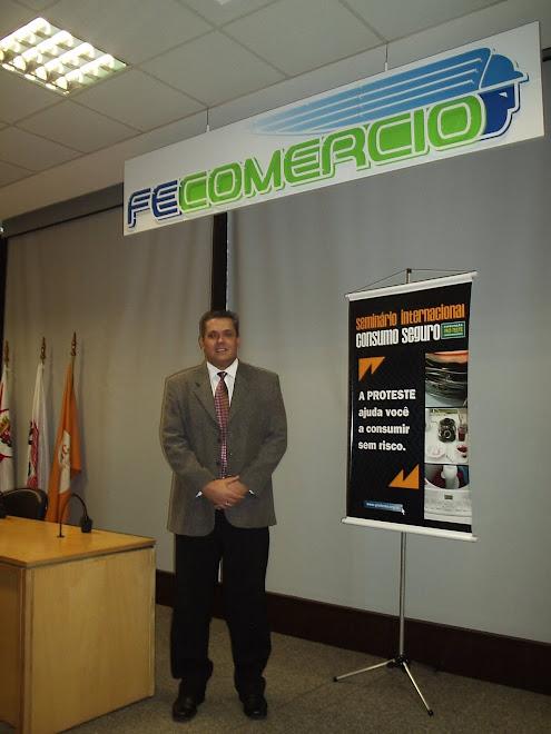 MARCELO GIL NO SEMINÁRIO INTERNACIONAL DO CONSUMO SEGURO EM SÃO PAULO.