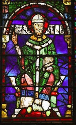 Thomas Becket, stained glass, Canterbury Cathedral