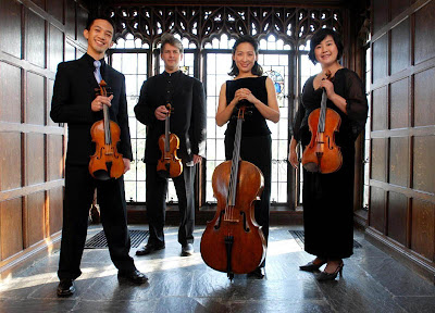 Borromeo String Quartet, photo by Liz Linder