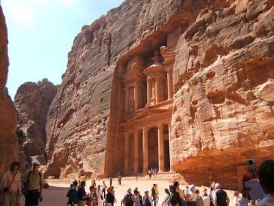Petra, la tesorería