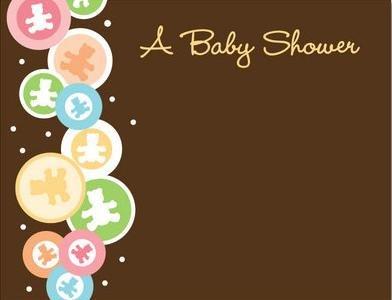 Marco Para Invitacion De Baby Shower