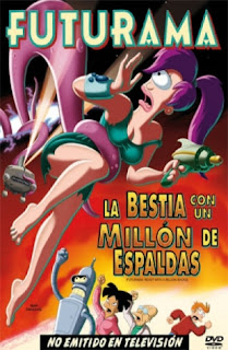Futurama: La Bestia con un Millón de Espaldas (Futurama: The Beast with a Billion Backs) (Futurama Movie 2) (2008) Español Latino