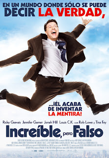 The invention of lying (Increíble pero falso) (La invención de la mentira original) (2009) Español Latino