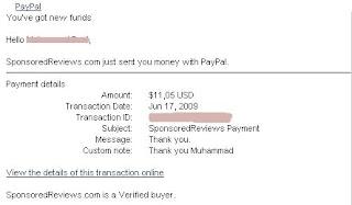 payment SR