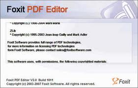 Foxit Pdf Editor With Key