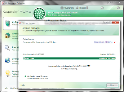 Kaspersky PURE 9.0.0.192 Full With Tutorial Patch + Key + Anti Blacklist.