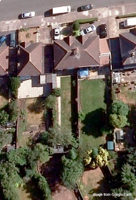 garden as on Google Earth today