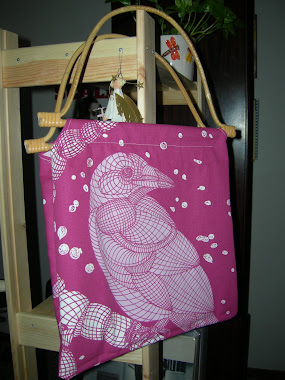 The Pink Crow Bag