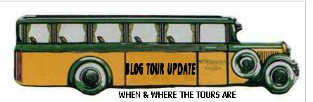 BLOG TOUR UPDATE