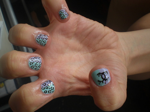 The Astounding Really good leopard print nail design Picture