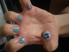 acrylic nails designs for short nails