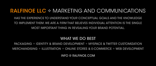 Ralfinoe LLC - Marketing & Communications