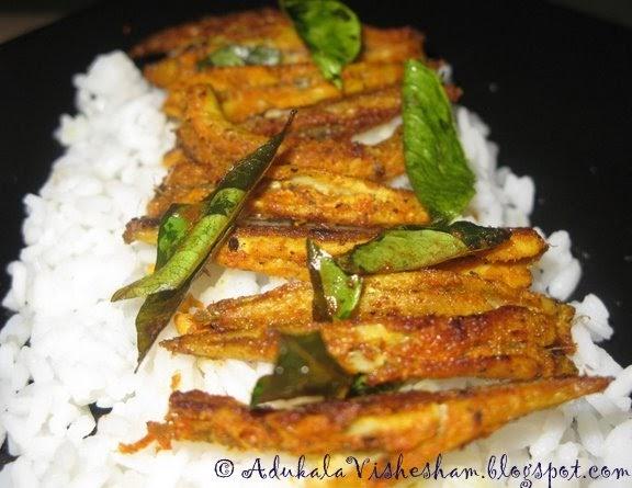 Adukala vishesham fish fry smelt for Atlantic fish fry