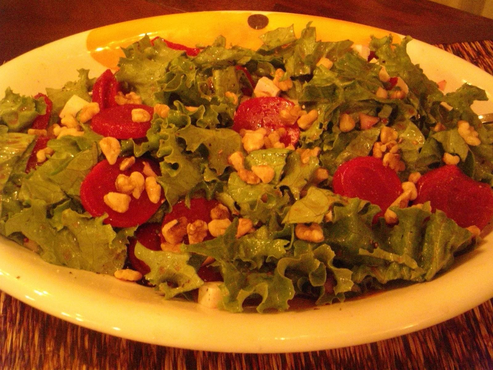 Gluten Free~Huge Taste: Beet and Ricotta Salata Salad