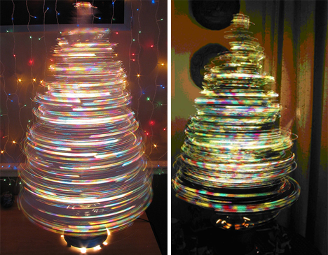 Christmas Fibre Optic Trees